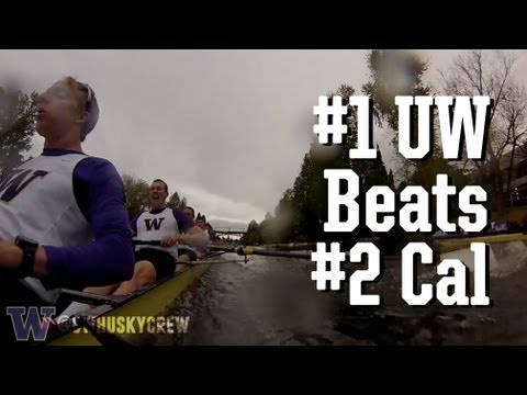 #1 UW Men's Crew tops #2 Cal