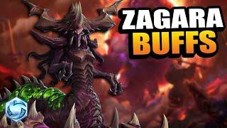 Zagara - roach build BUFFED // Heroes of the Storm