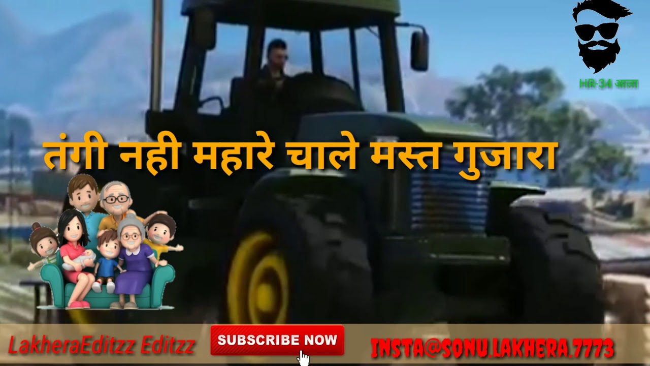 ## 40 kille aala jamidar | Viraj | whatsapp haryanvi status | letest 2018 haryanvi | LakheraEditzz #1