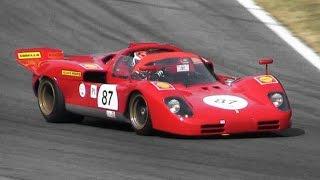 1970 Ferrari 512 S Great V12 Engine Sound
