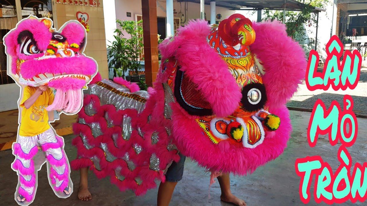 KN – Bán Đầu Lân Sư Rồng Hạt Sơn Lông Cừu Giá Cực Rẻ NTN / Lion Dance