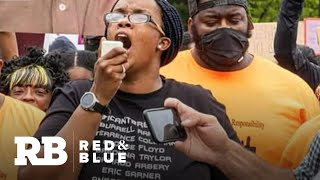 Activist draws thousands to Boston protest