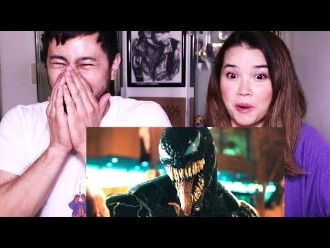 VENOM | Tom Hardy | Trailer Reaction!