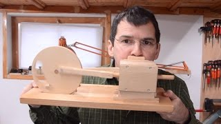 Wooden air engine build