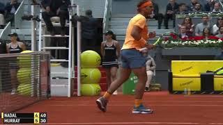 Andy Murray vs Rafael Nadal Madrid 2016 Semi Final Highlights HD