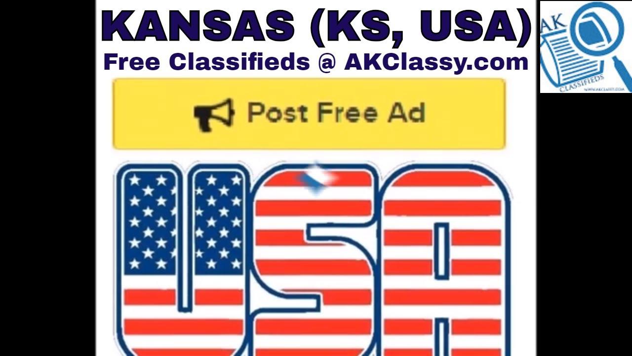 KS KANSAS CLASSIFIEDS Post Free Ads Online (Pets/Cars Rent ...