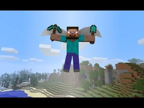 Monster School: Flying - Minecraft Animation