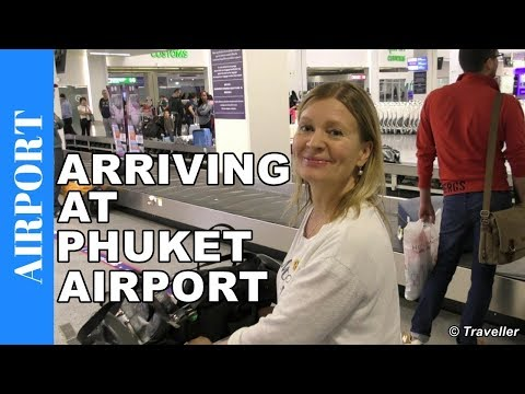 ARRIVING AT PHUKET INTERNATIONAL AIRPORT - Phuket Airport´s New International Passenger Terminal