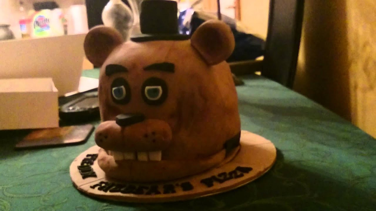 5 knights of freddy cake