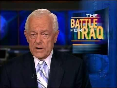 CBS Evening News September 2006 - Final Bob Schiefer