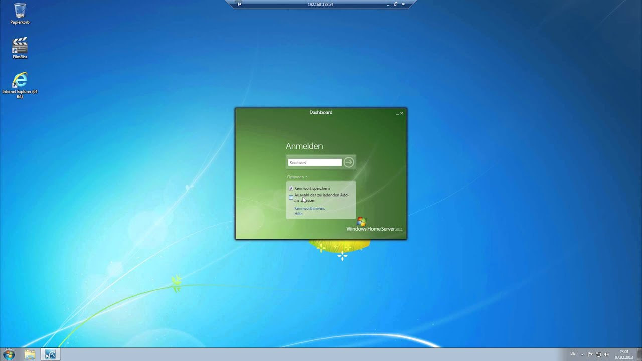 Tutorial - Windows Home Server 10 [HD] - Client einrichten