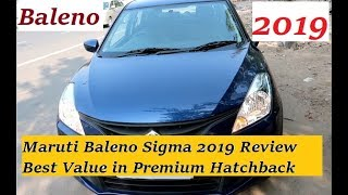 Maruti Baleno 2019 Sigma Review: Best Value Premium Hatchback Car in India