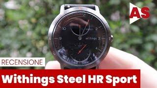 Recensione Withings Steel HR Sport