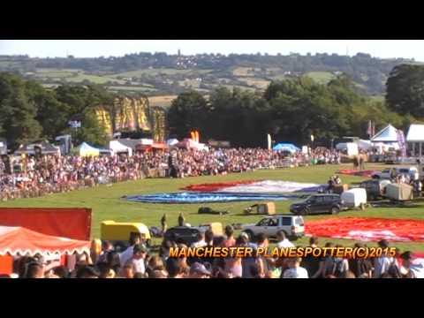 Bristol International Hot Air Balloon Fiesta At Ashton Court 2015 On The 08/08/2015