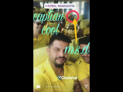 Dhoni sleeping in flight after winning  t20 forcsk team 2018 at pune