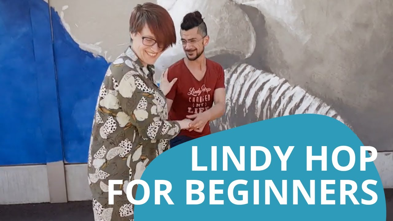 Learn Swing Dance! Lindy Hop for Beginners (Class 1 of 6)