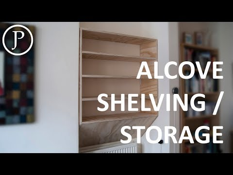 How to Make Shelving for an Alcove
