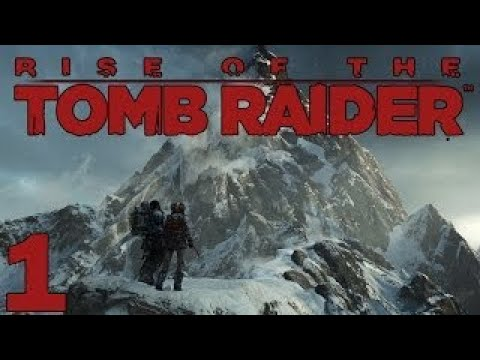 Rise of the Tomb Raider Gameplay ep. 1 From Siberia to Syria (Lets Play PC version 1080p