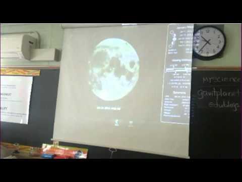 Moon Phase app on IPad