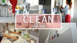 CLEAN WITH ME 2018 | Cleaning Routine + Cleaning Motivation