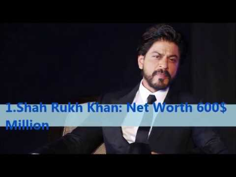 Top 10 Richest Bollywood Stars And Their Networth