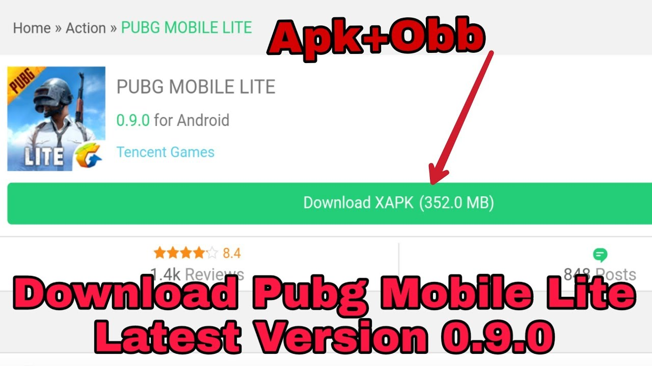 Download Pubg Mobile Lite Latest Version 0.9.0 || Apk+Obb || 352 Mb || With Downloading Link  #Smartphone #Android
