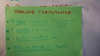 Русский язык. ОГЭ. Сказуемое.