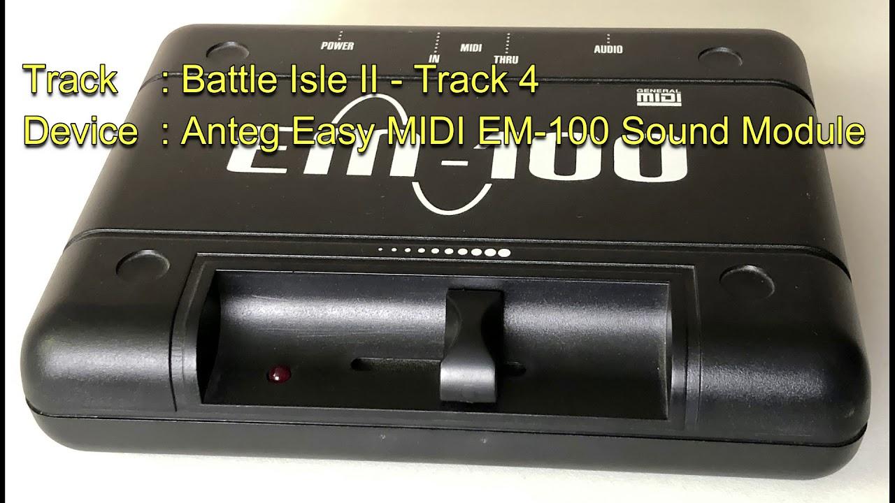 Battle Isle II - Track 4 [Anteg Easy MIDI EM-100 Sound Module] - YouTube
