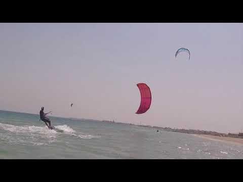 Khiran Windy Weekend - Kitesurf Kuwait - AshkiCam 2017