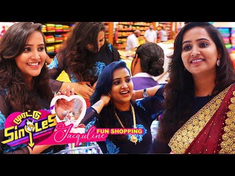 Morattu Singles Jacqueline-ன் கலக்கலான Pongal Shopping..! | Velavan Stores | Chennai | Pongal Treat