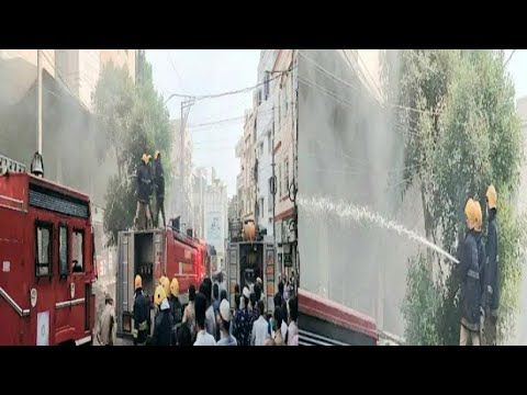 Fire Incident Took Place In Nakhoda Complex Hanuman Tekdi Under The Sultan Bazar PS Limits