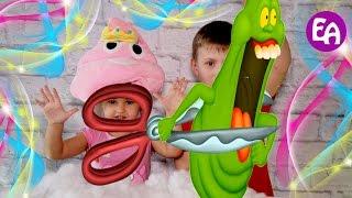 Режем игрушки Разрезали антистресс Bad Baby режут игрушки Что внутри игрушек Cutting open
