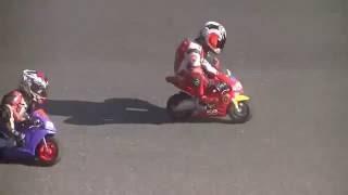 Balap Motor GP Anak Kecil Lucu