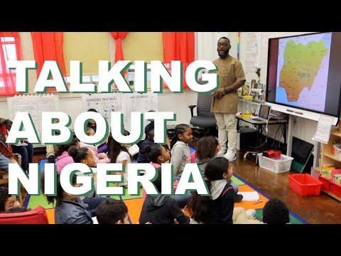 Talking Nigeria at Samara Community School, Bronx NY