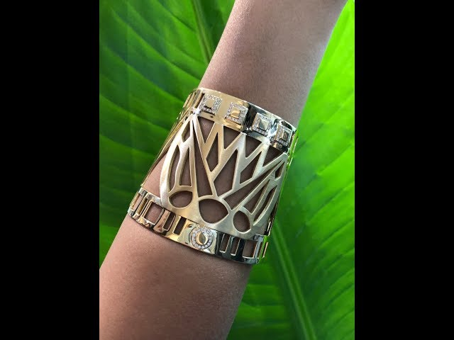 Discover the Lotus jewels and more by Egyptian jewellery powerhouse Azza Fahmy.