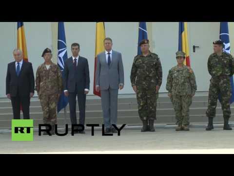 Romania: Pres Iohannis hails new NATO command unit in Bucharest