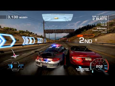 need for speed hot pursuit police chase porsche patrol. Black Bedroom Furniture Sets. Home Design Ideas
