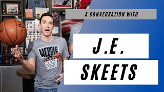 """J.e. skeets is the co-host of no dunk podcast on athletic and he's former nbatv's """"the starters."""" he joined deuce & mo to talk about h..."""