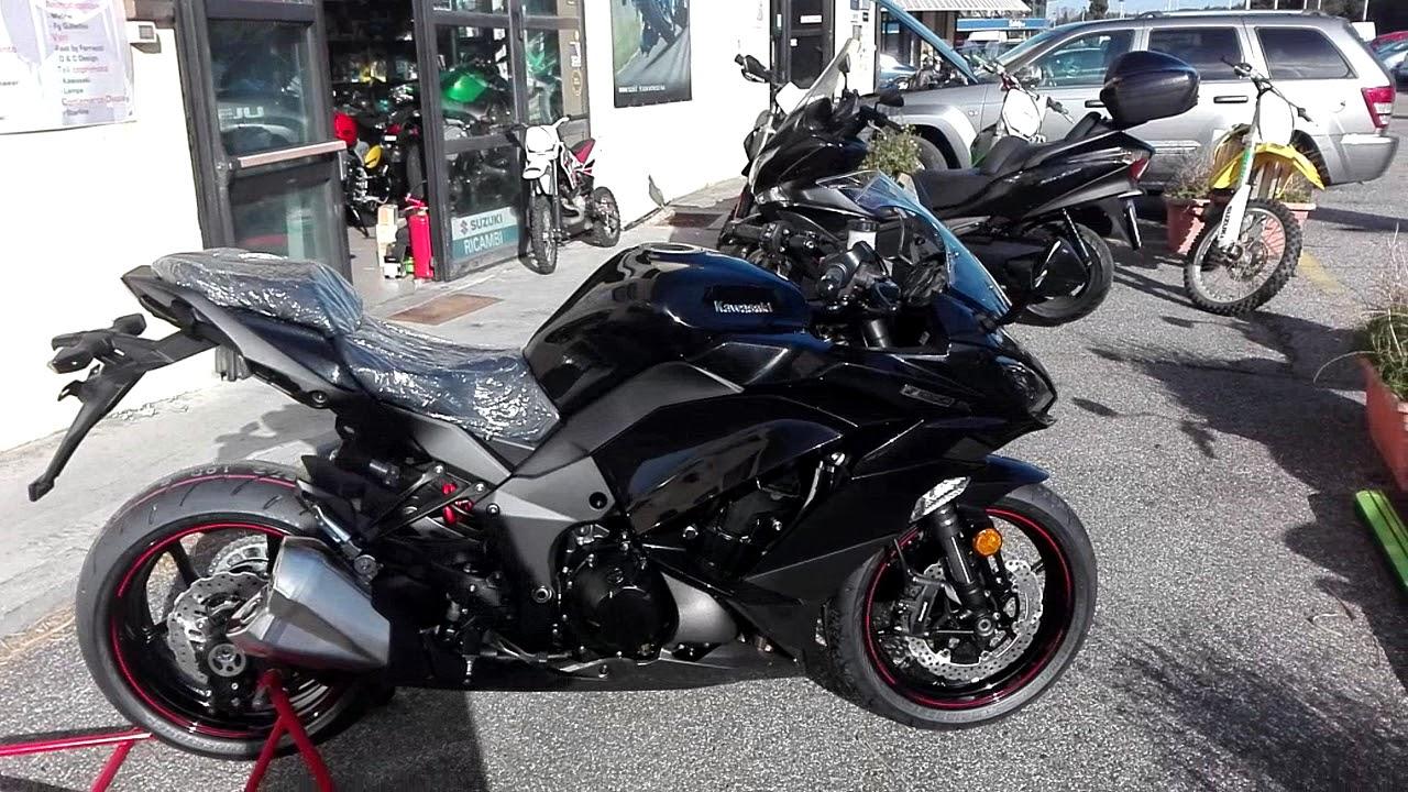 Kawasaki Z1000SX Black 2018