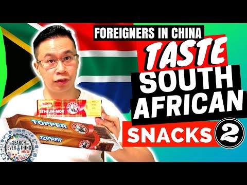 Foreigners try South African Snacks (Part 2) - The Search for Food