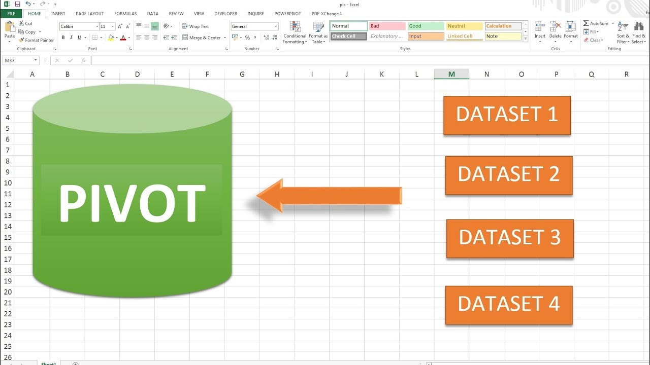 Consolidate multiple excel sheets into one pivot table extended version youtube also rh