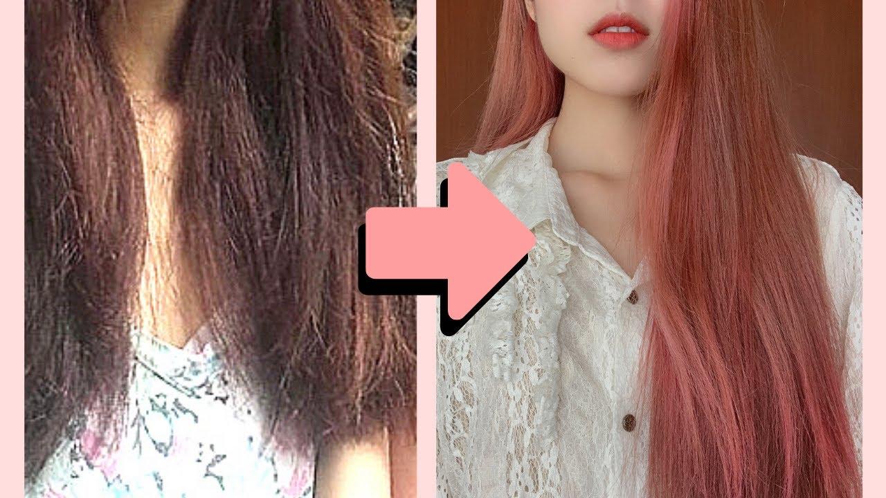 ¿Cómo mejoré mi cabello MALTRATADO?😱  TRUCOS PARA EL CABELLO LISO Y BONITO