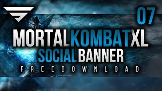 Mortal Kombat XL Banner & Logo Template | Free Download | Photshop CC
