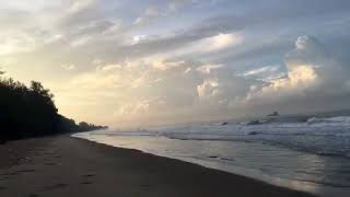Earlier morning of Mae Phim Beach, Rayong Province, East part of Thailand
