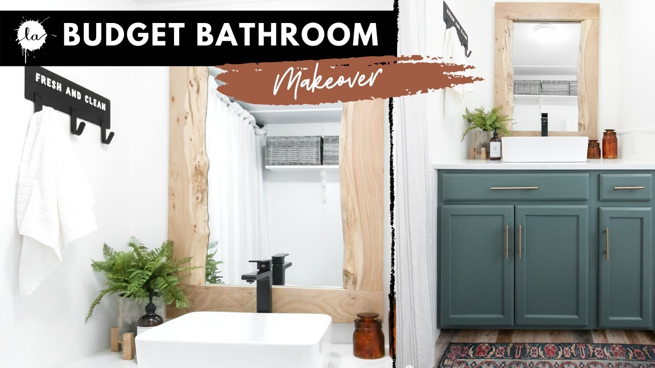 Giveaway Extreme Bathroom Makeover On A Budget Resin