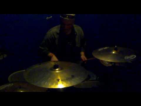 Andrew White drum solo