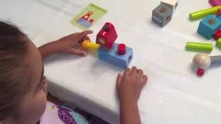 HABA Smart Fellow Pegging Logic Game: Ages 2-6