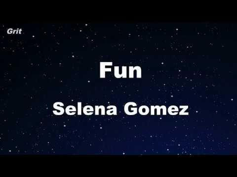 Karaoke♬ Fun  - Selena Gomez 【No Guide Melody】 Instrumental