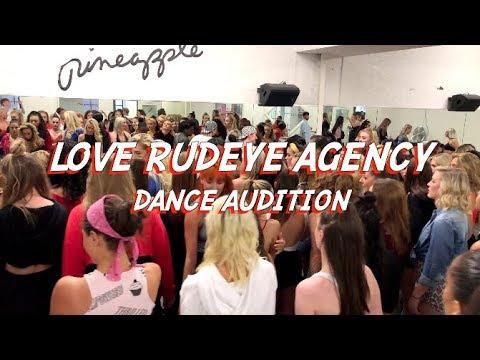 Love Rudeye Agency - Dance Audition