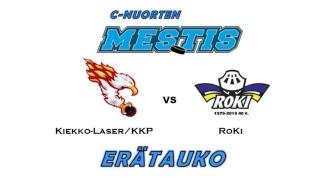 C-nuorten Mestis K-Laser/KKP vs. RoKi  23.3.2019 Kempele